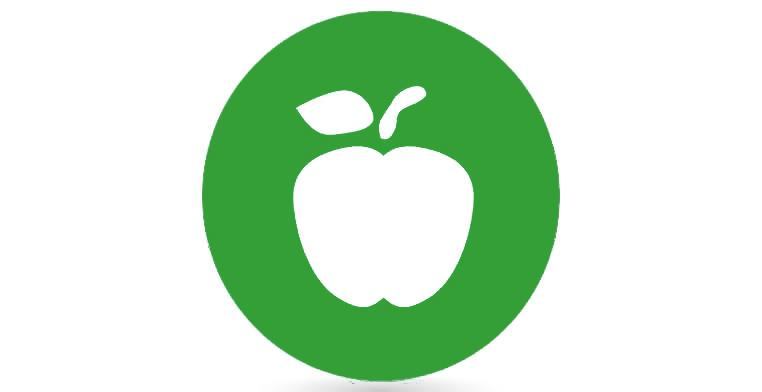 Symbol Ernährung auf der Webseite der Kardiologie Dr. Anand Roy in Leipzig.